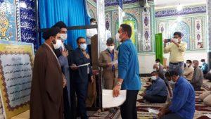 درنماز جمعه از خیرین ویاوران برنامه های فرهنگی و مذهبی شهرستان بهمئی تجلیل شد.