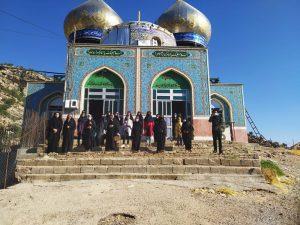 برگزاری اردوی فرهنگی و تربیتی طرح شهید بهنام محمدی حوزه مقاومت بسیج دانش آموزی شهرستان بهمئی