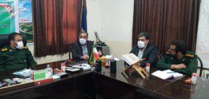 جلسه کمیته اجرایی بسیج دانش آموزی و فرهنگیان شهرستان بهمئی بمناسبت هفته دفاع مقدس برگزار گردید.
