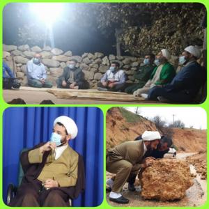 امام جمعه جهادی ،حضور فعال در روستاها تا راهاندازی هر کوچه یک حسینیه در دهدشت