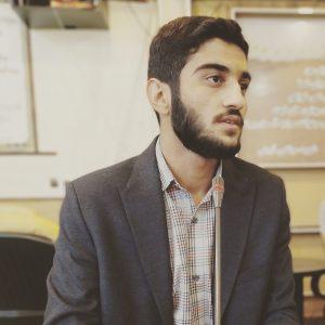 واکنش فعال دانشجویی و مسئول مطالبه گری و گفتمان سازی بسیج دانشجویی دانشگاه یاسوج  برای جو سازی مذاکره دوباره با آمریکا