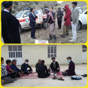 بازدید و سرکشی از منطقه عشایری آب بهاره توسط امام جمعه و تعدادی از مسئولین شهرستان بهمئی