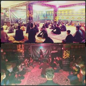 برگزاری مراسم شهادت حضرت زهرا(س)به مدت سه شب درشهرلیکک شهرستان بهمئی