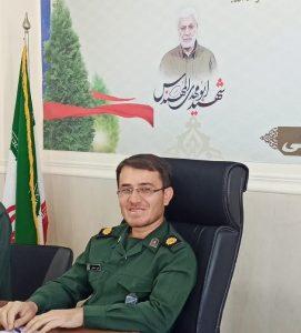 فرمانده ناحیه مقاومت بسیج شهرستان بهمئی بمناسبت ۱۲فروردین روز جمهوری اسلامی ایران پیامی صادر کردند