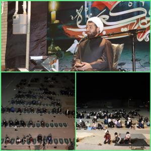 لحظههای ناب عاشقی در شب قدر ، شب بیست و سوم ماه مبارک رمضان شهرستان بهمئی