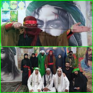 اجرای تعزیه و شبیه خوانی در ایام شهادت حضرت علی علیه السلام در شهرستان بویراحمد