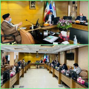 دیدار سید محمد موحد با مدیرعامل شرکت تهیه و تولید مواد معدنی ایران