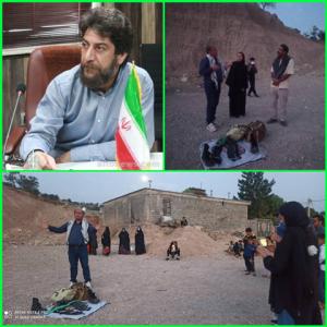"""بمناسبت آزادسازی خرمشهر نمایش """"فریاد مجنون"""" در پاتاوه به روی صحنه رفت"""