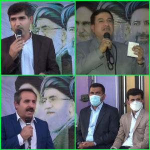 برگزاری مراسم افتتاحییه تجمیع ستادهای شورای ائتلاف نیروهای انقلاب شهرستان بهمئی در حمایت از سید ابراهیم رئیسی