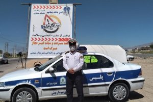پیام تقدیروتشکررئیس پلیس راهور شهرستان بهمئی به جهت برقراری امنیت ترافیکی درانتخابات