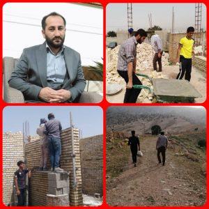 فعالیت های قرارگاه جهادی شهید سلیمانی هیئت میثاق با شهدا