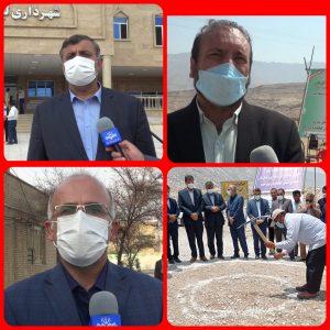 کلنگ زنی ۹ و افتتاح ۳۳ طرح عمرانی و زیر بنایی در بهمئی