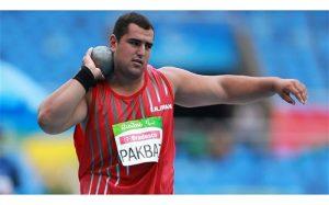 نماینده ایران مقام پنجم پرتاب وزنه پارالمپیک ۲۰۲۱ توکیو را کسب کرد