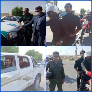 رژه خودرویی به مناسبت هفته دفاع مقدس درشهرستان بهمئی +تصاویر