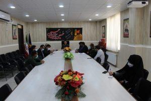 جلسه کمیته اجرایی بسیج دانش آموزی شهرستان بهمئی بمناسبت هفته دفاع مقدس برگزار شد.