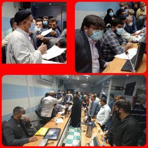 دیدار چهره به چهره نماینده کهگیلویه بزرگ در مجلس شورای اسلامی با مردم بهمئی+تصاویر
