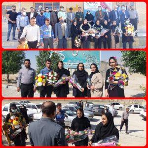 استقبال با شکوه از تیم منتخب موی تای استان در مسابقات انتخابی تیم ملی در زنجان
